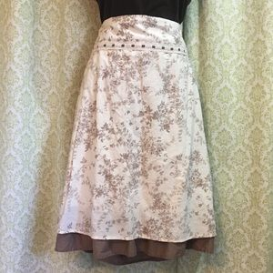 Sonoma Life + Style floral skirt